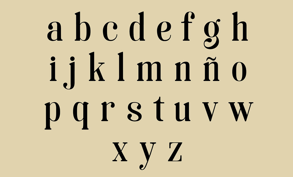 soria lowercase