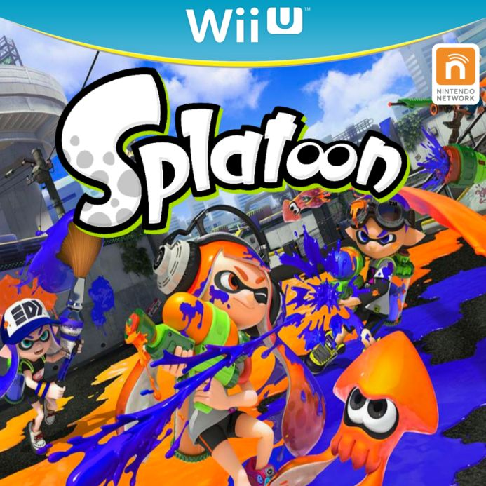 splatoon game logo