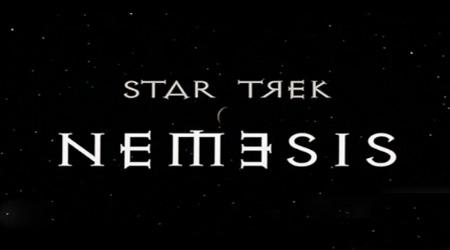 star trek nemesis opening title font