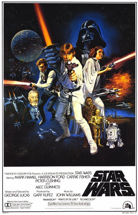 Star Wars 1977 Original Poster