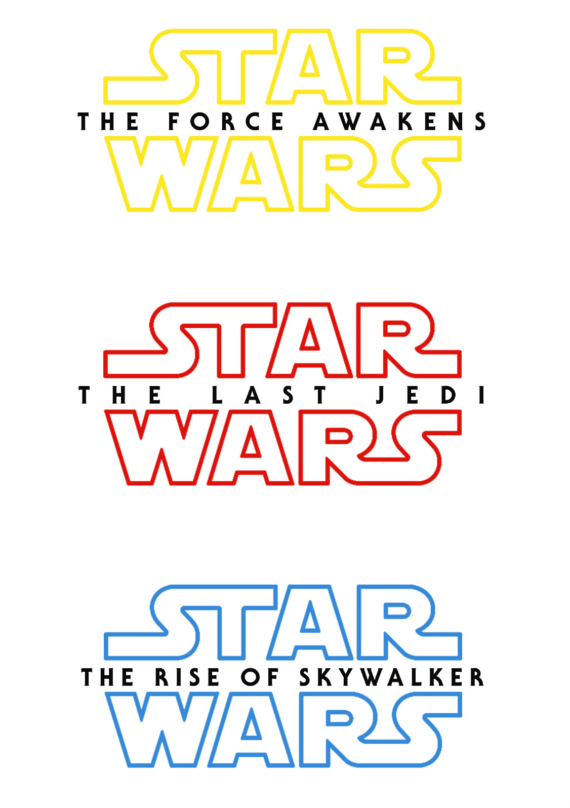 The Rise Of Skywalker Font