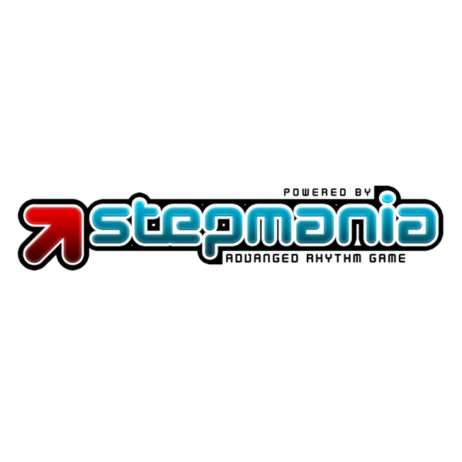 stepmania logo font