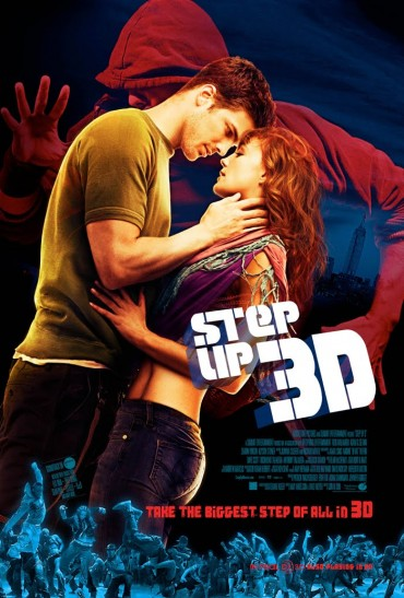 Step Up 3D Font