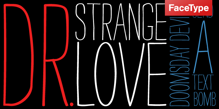 strangelove-font