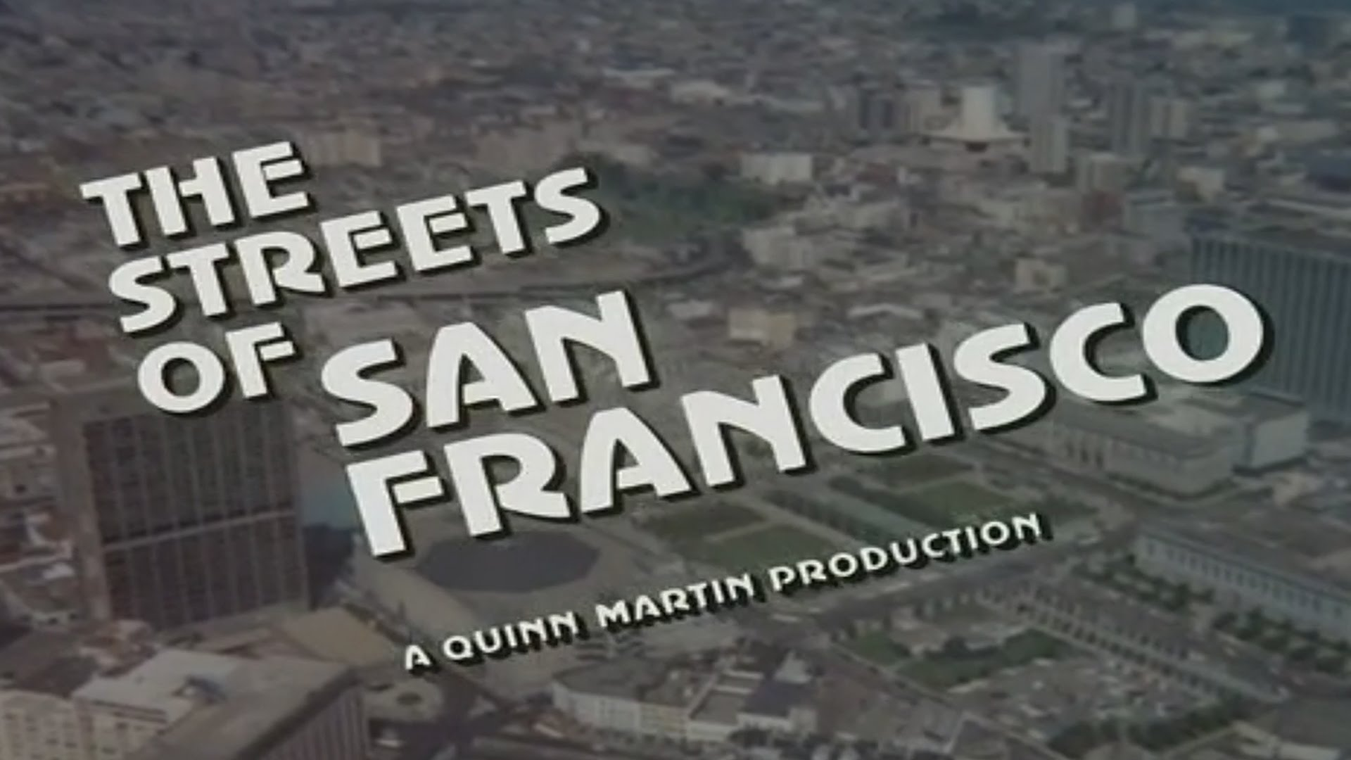 streets of san francisco title font