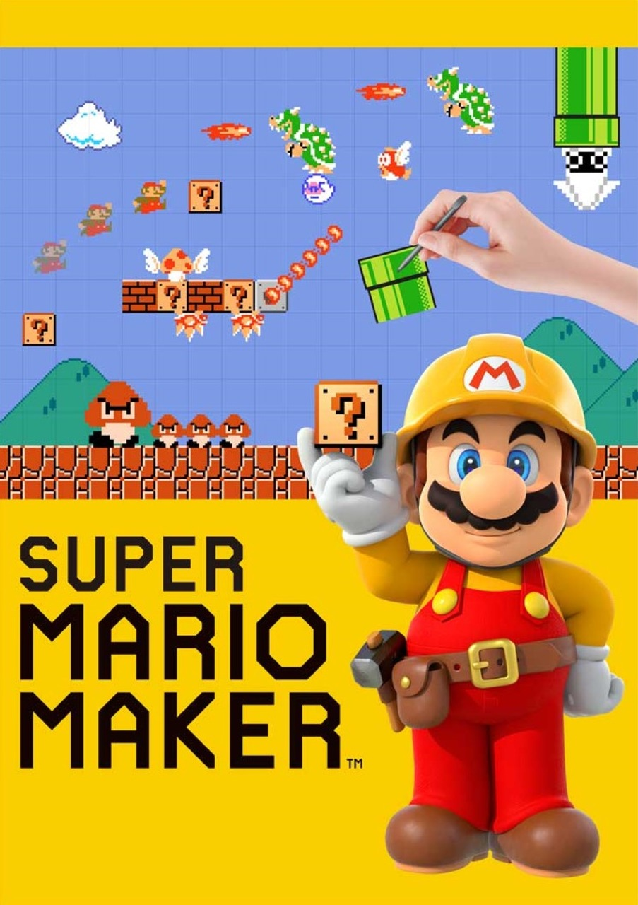About Super Mario Maker (video game) Font