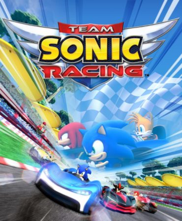 Team Sonic Racing Font