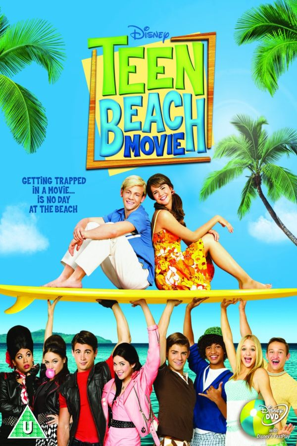 teen beach movie font
