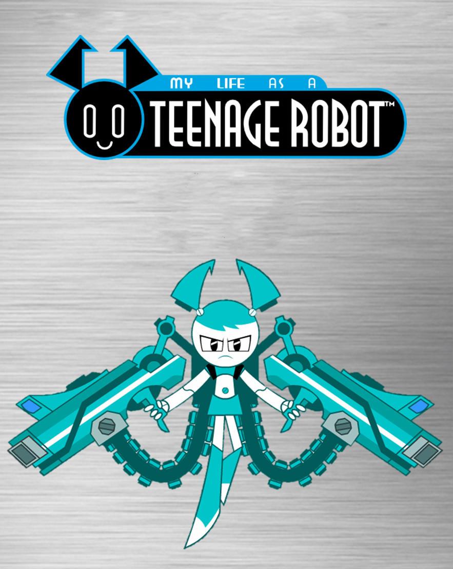 teenage robot logo font
