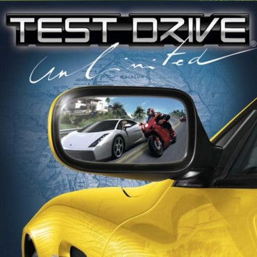 Test Drive Unlimited Font