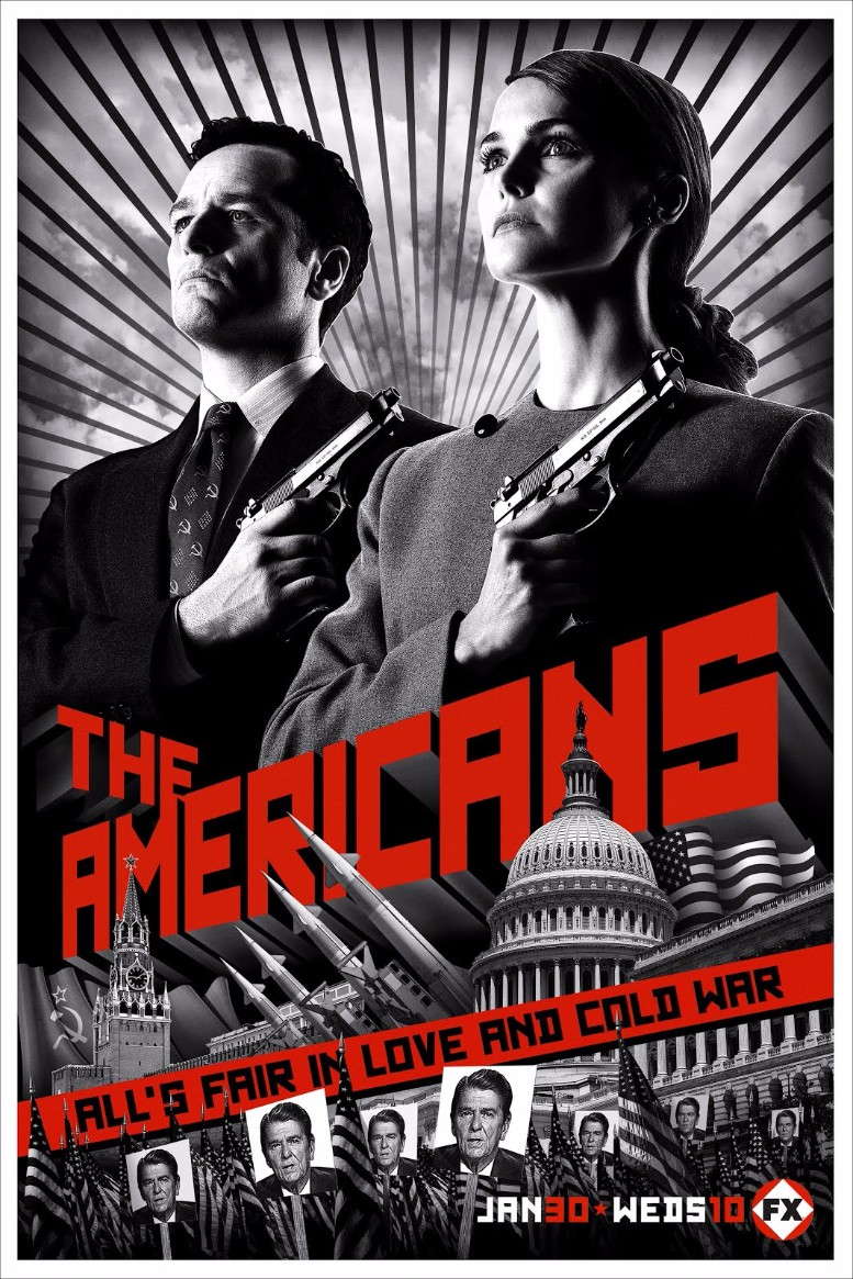 the americans font