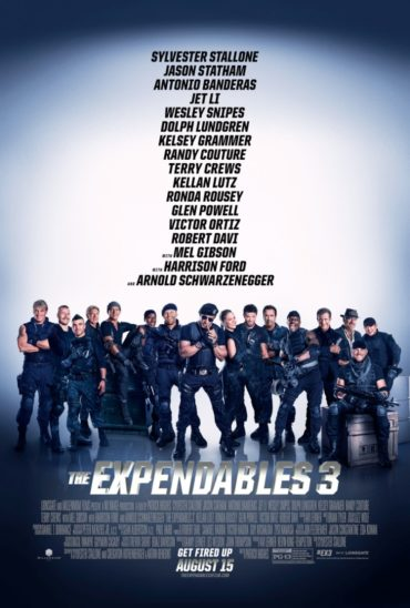 The Expendables 3 Font