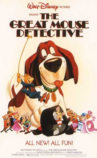 The Great Mouse Detective Font