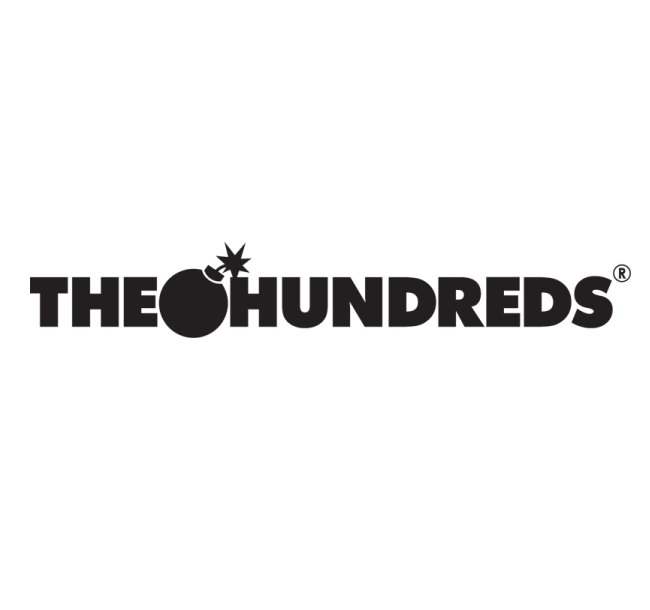 the hundreds logo font