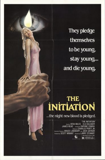 The Initiation (film) Font