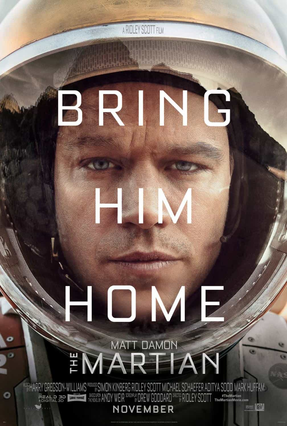the martian film font-min