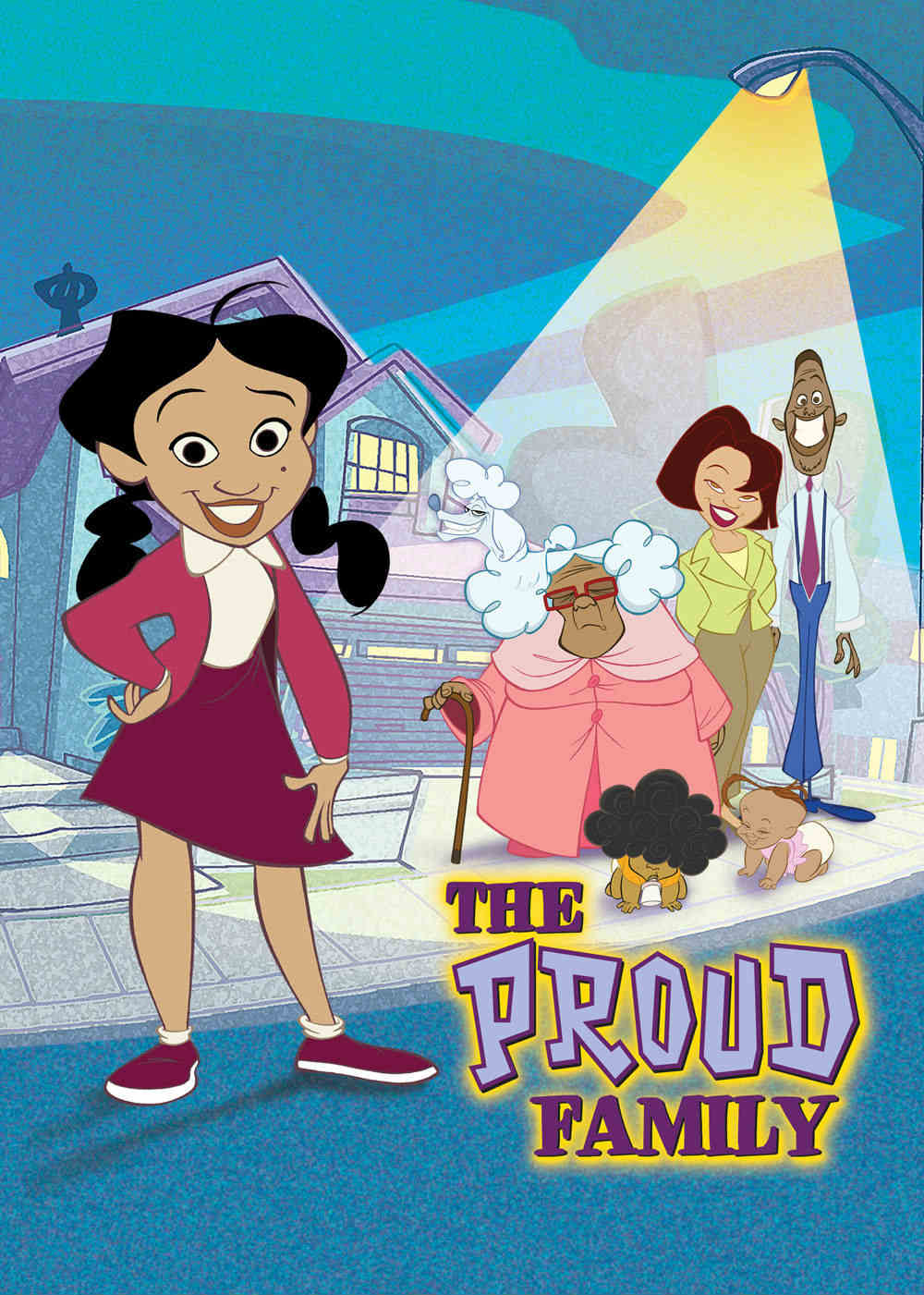 the proud family  tv show  font
