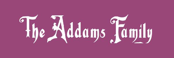 Family Font Name Font Name Fiddums Family Font