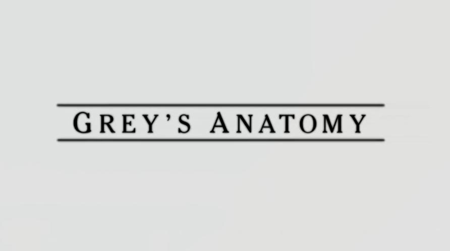 Grey\'s Anatomy Font