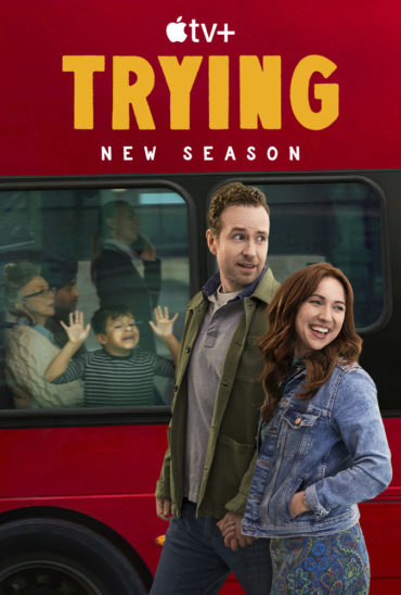 Trying (TV series) Font