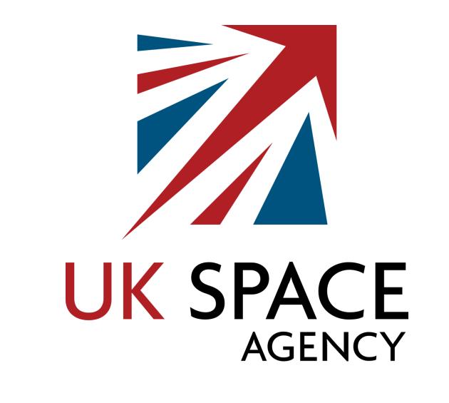 uk space agency logo font