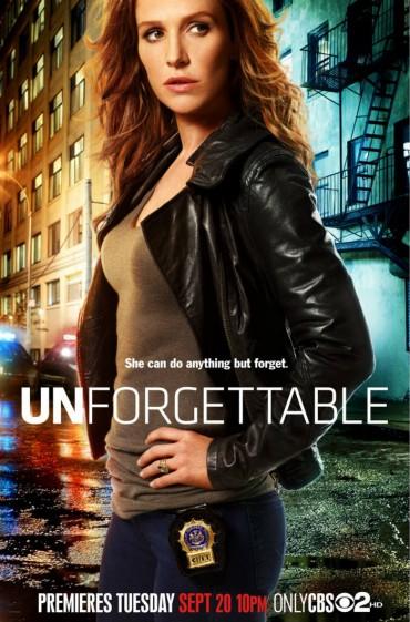 Unforgettable (TV Show) Font
