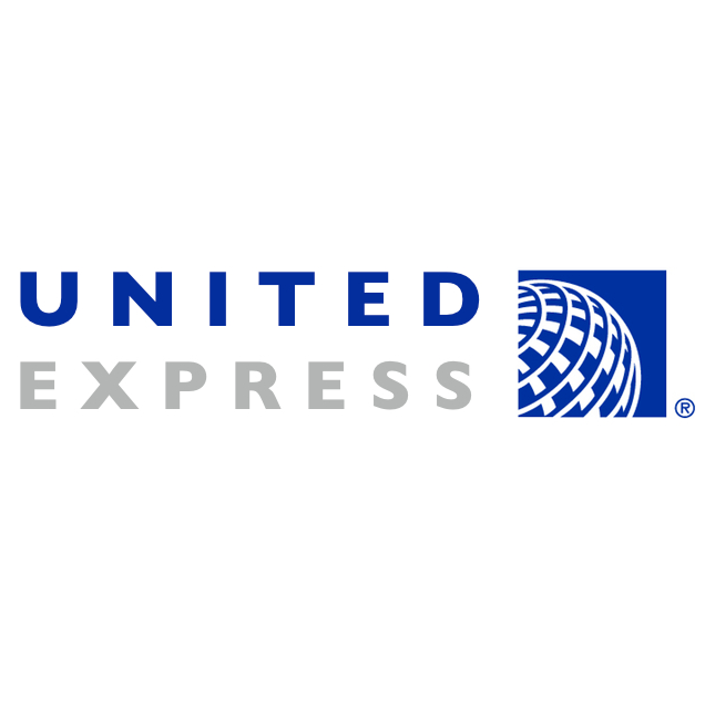 united express logo font