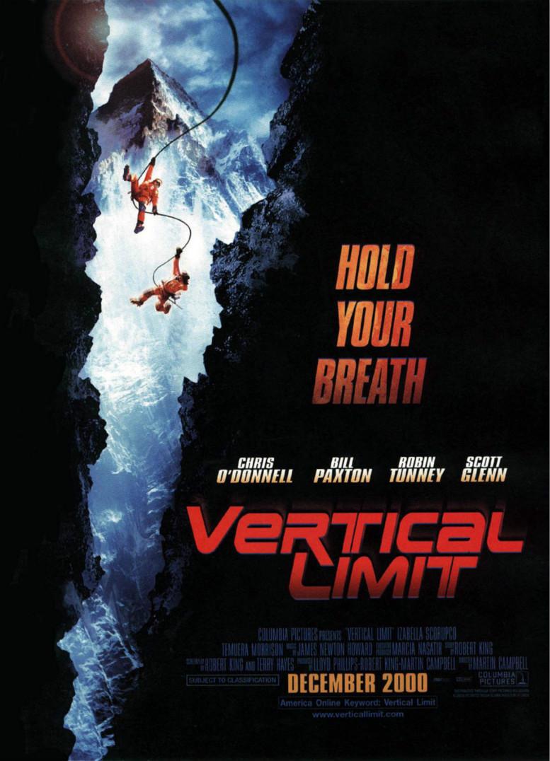 vertical limit font