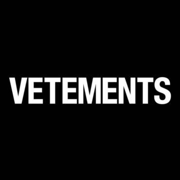 Vetements Logo Font