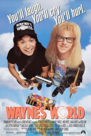 Wayne's World Font