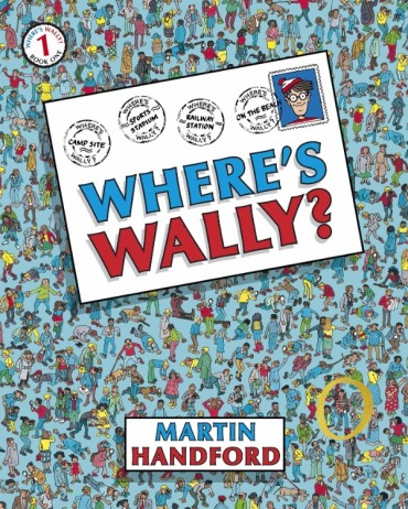 Where's Wally Font