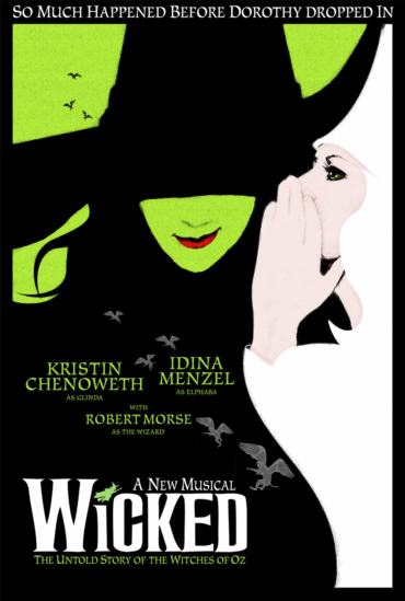 Wicked (musical) Font