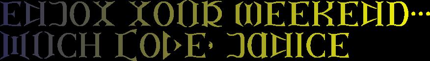ambigram-font
