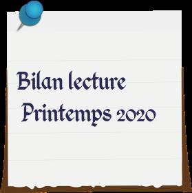 Bilan lecture printemps 2020