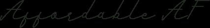 romantic-font
