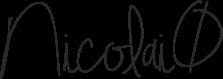 Underskrift Nicolai