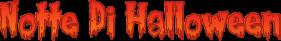 font-halloween